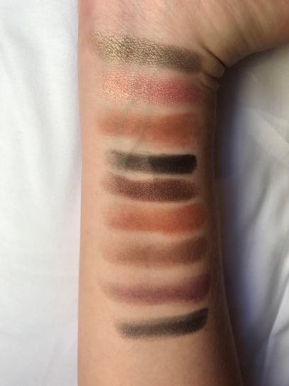 Swatchs palette Too Faced